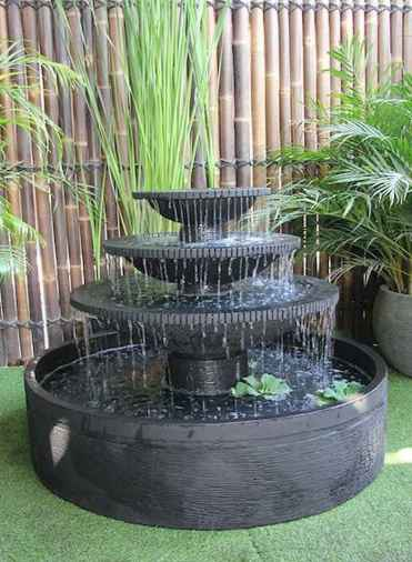 30 beautiful backyard ideas water fountains design and makeover (4)