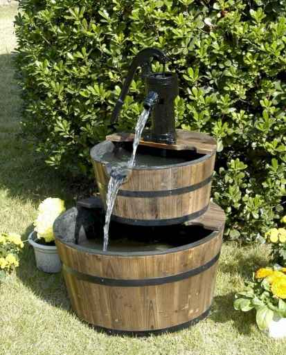 30 beautiful backyard ideas water fountains design and makeover (7)