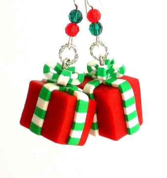 50 easy to try diy polymer clay christmas design ideas (10)