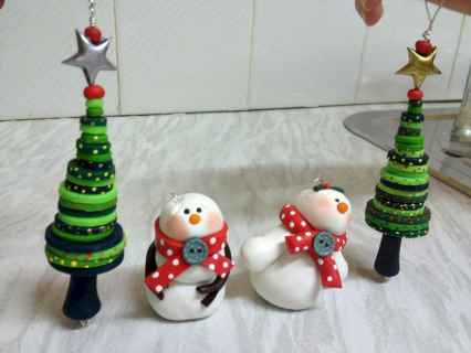 50 easy to try diy polymer clay christmas design ideas (18)