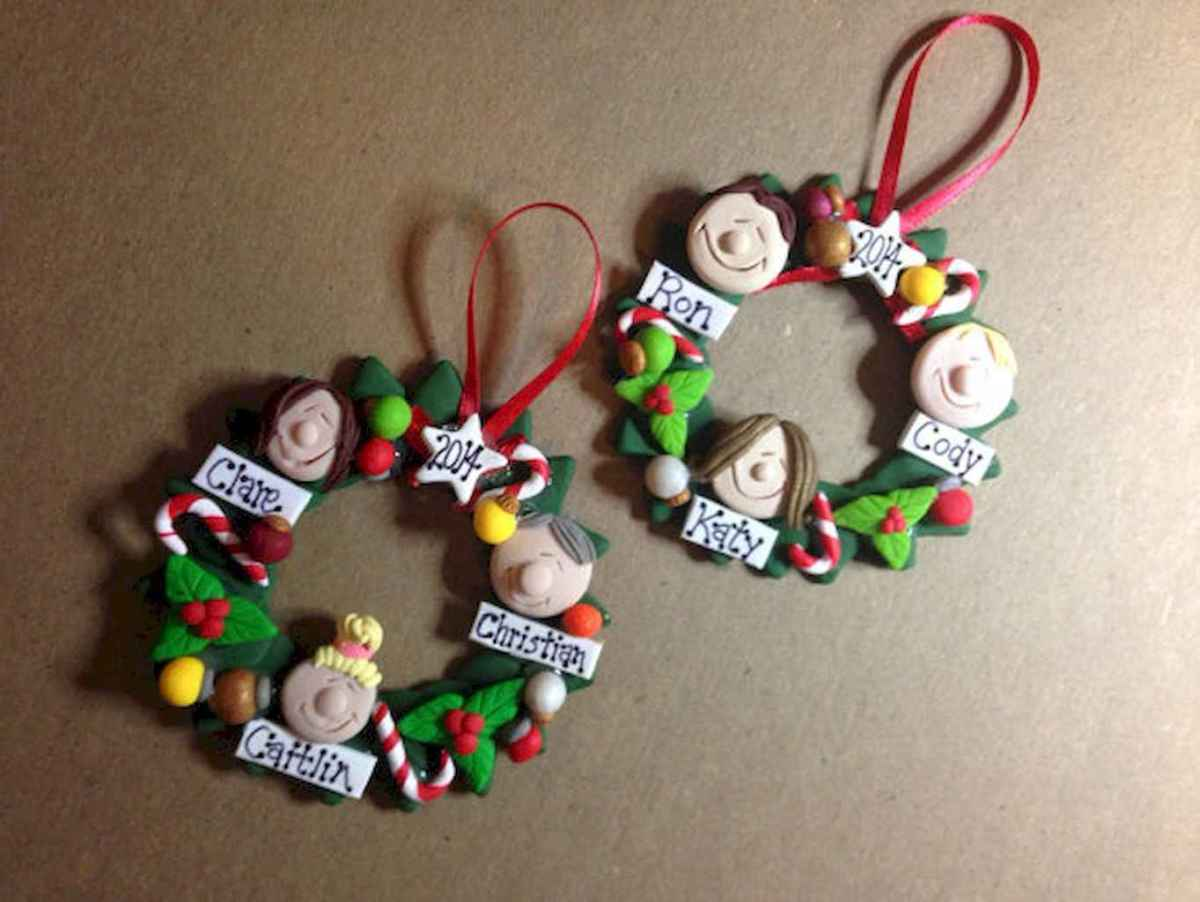 50 easy to try diy polymer clay christmas design ideas (3)