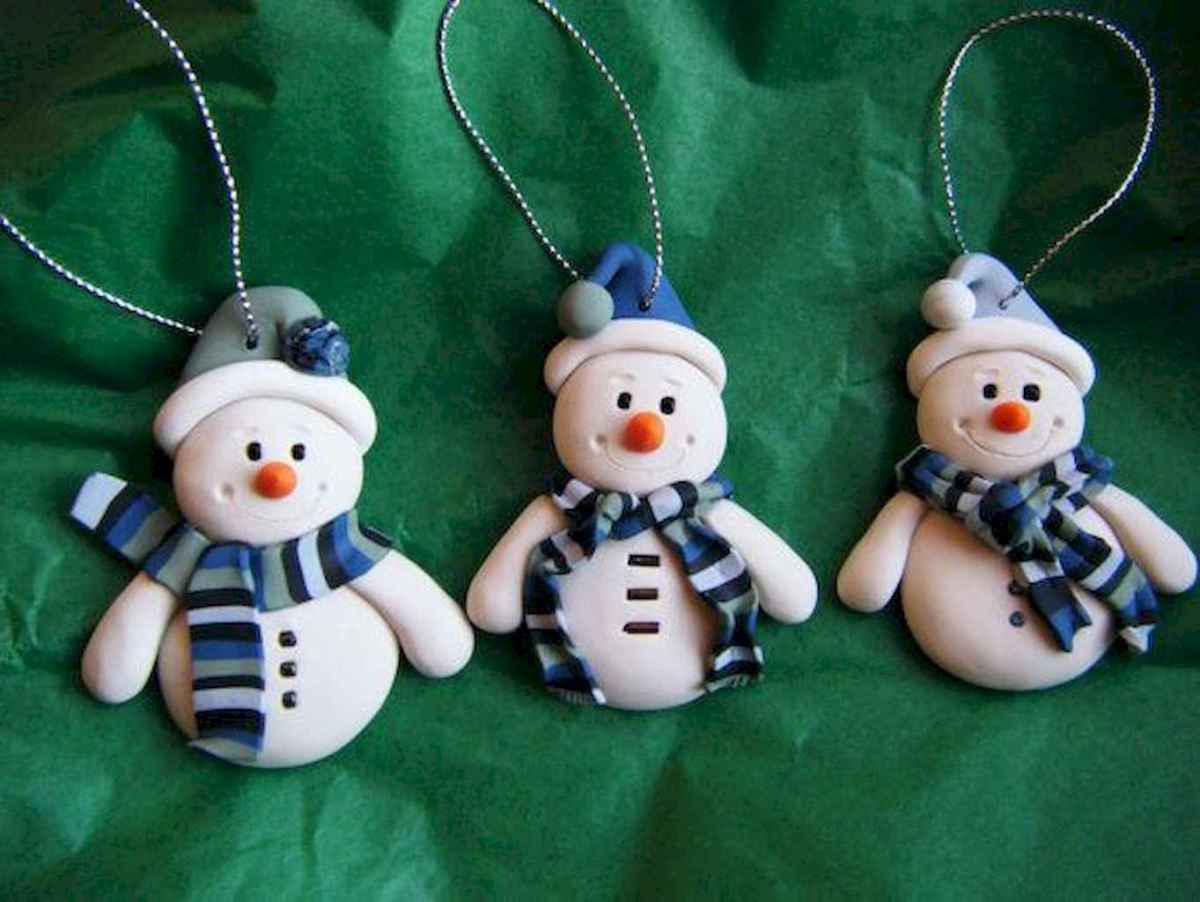 50 easy to try diy polymer clay christmas design ideas (30)