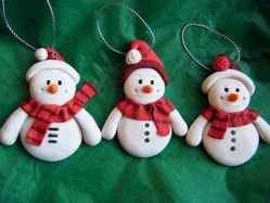 50 easy to try diy polymer clay christmas design ideas (5)