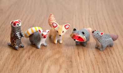 55 easy to try diy polymer clay animals design ideas (20)