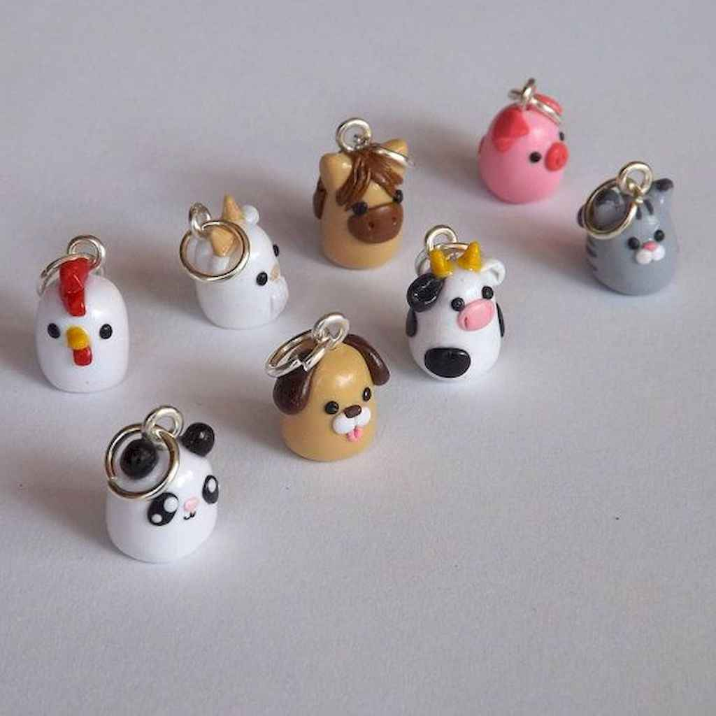 55 easy to try diy polymer clay animals design ideas (29)