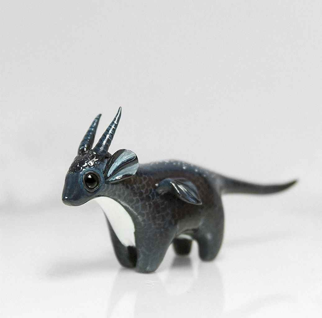 55 easy to try diy polymer clay animals design ideas (31)