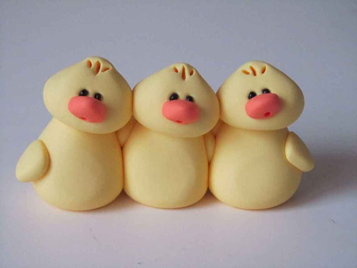 55 easy to try diy polymer clay animals design ideas (34)