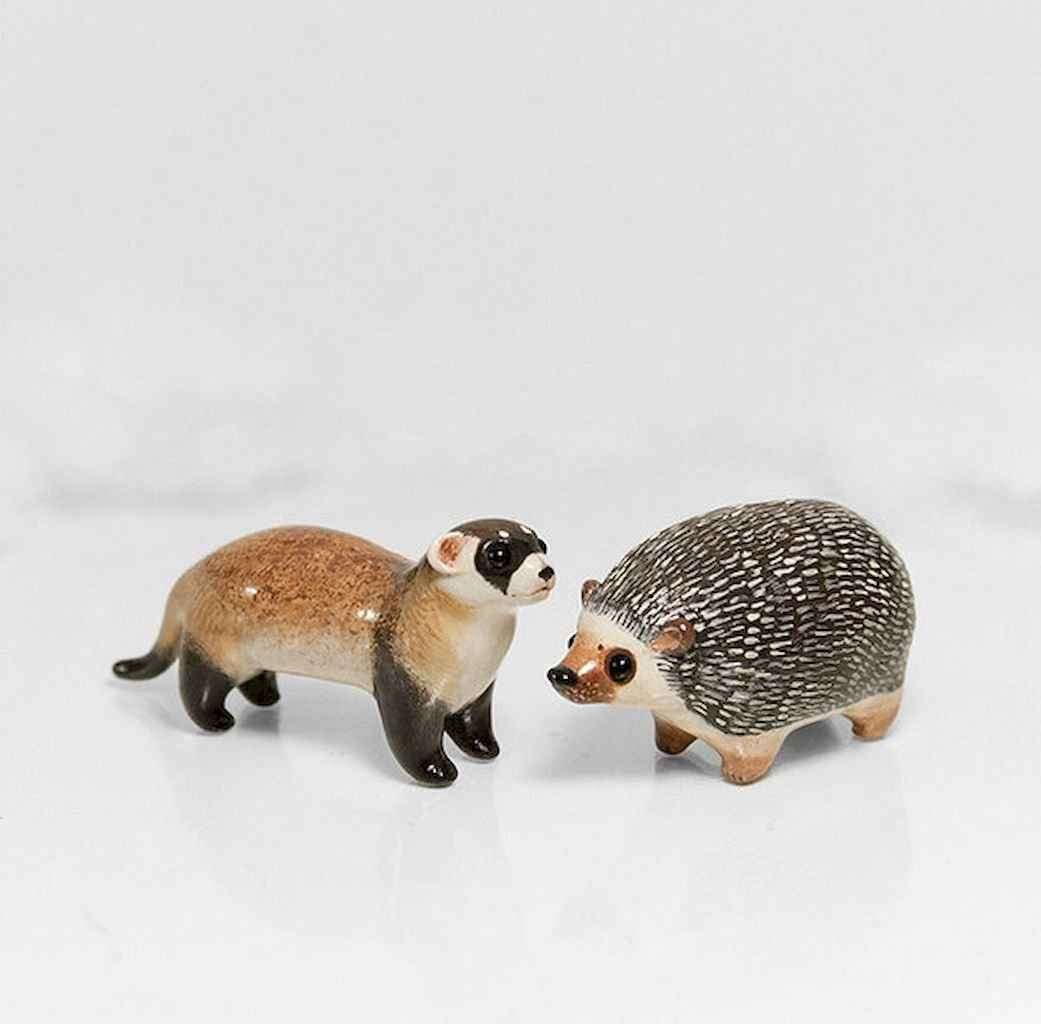 55 easy to try diy polymer clay animals design ideas (39)