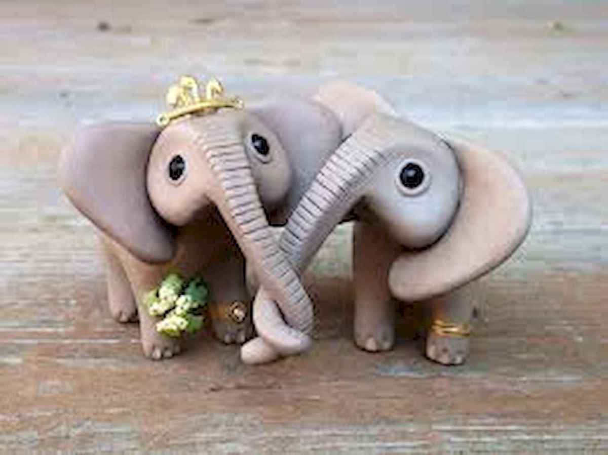 55 easy to try diy polymer clay animals design ideas (44)