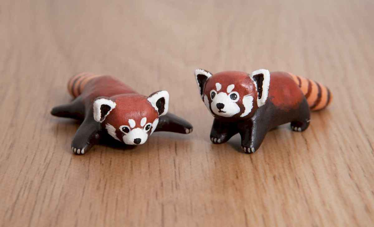 55 easy to try diy polymer clay animals design ideas (52)