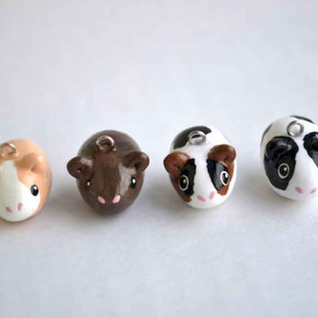 55 easy to try diy polymer clay animals design ideas (56)