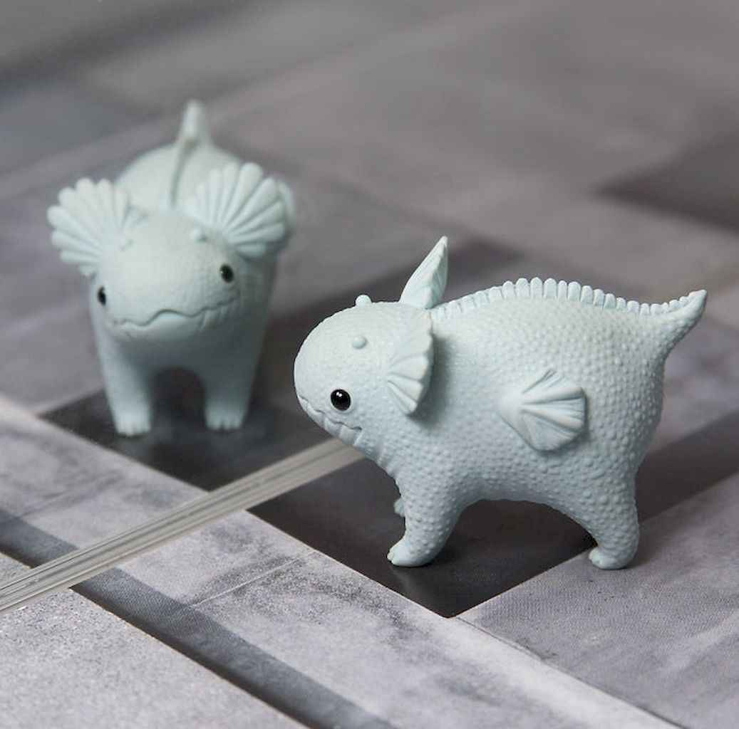 55 easy to try diy polymer clay animals design ideas (6)