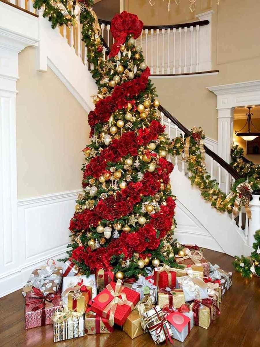 100 Beautiful Christmas Tree Decorations Ideas 21