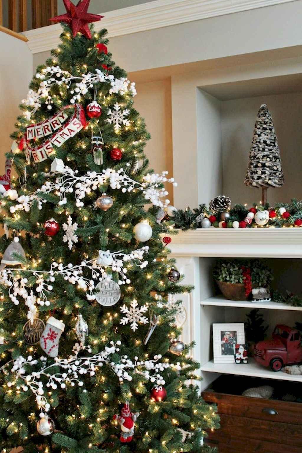 100 beautiful christmas tree decorations ideas (33