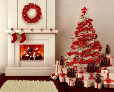 100 beautiful christmas tree decorations ideas (37)