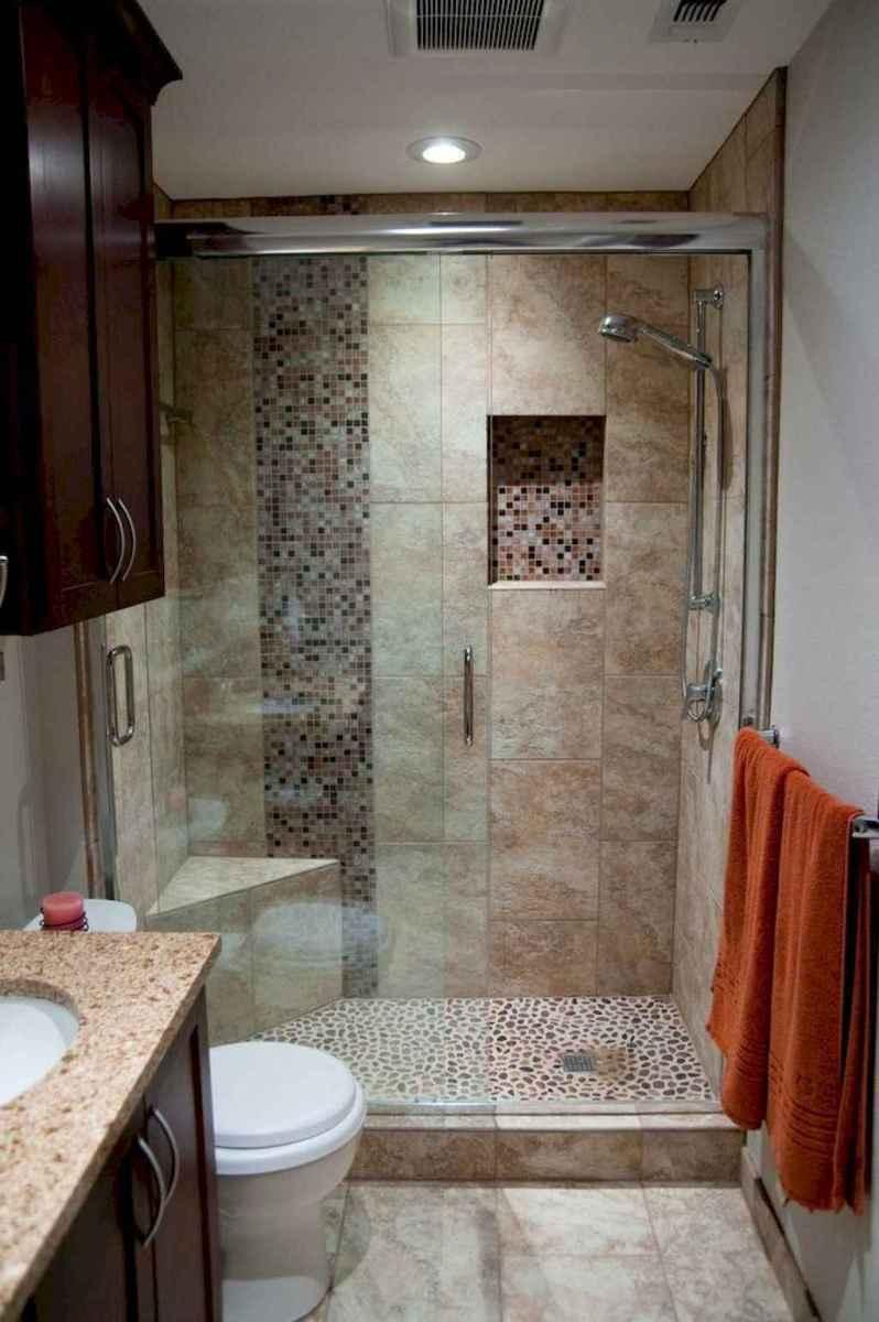 100 best farmhouse bathroom tile shower decor ideas and remodel to inspiring your bathroom (11)