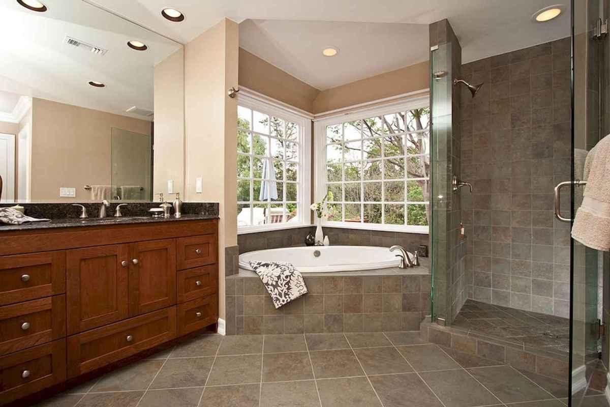 100 best farmhouse bathroom tile shower decor ideas and remodel to inspiring your bathroom (35)