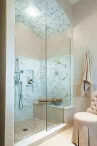 100 best farmhouse bathroom tile shower decor ideas and remodel to inspiring your bathroom (72)
