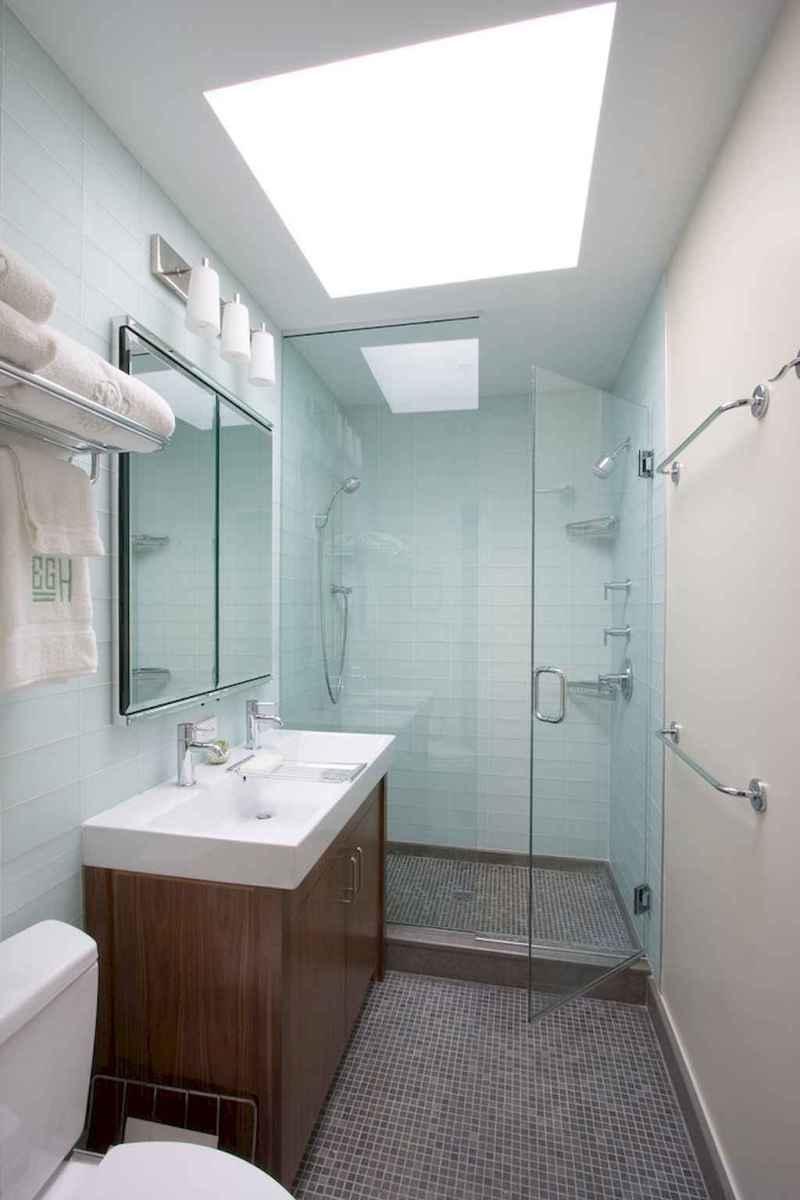 100 best farmhouse bathroom tile shower decor ideas and remodel to inspiring your bathroom (92)