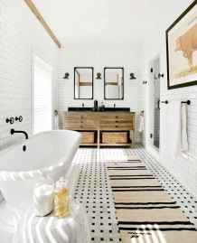 110 absolutely stunning bathroom decor ideas and remodel to inspire your bathroom (58)