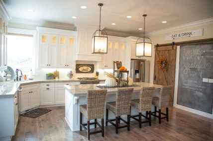 120 awesome farmhouse kitchen design ideas and remodel to inspire your kitchen (101)