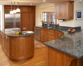120 awesome farmhouse kitchen design ideas and remodel to inspire your kitchen (104)