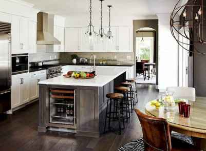 120 awesome farmhouse kitchen design ideas and remodel to inspire your kitchen (112)