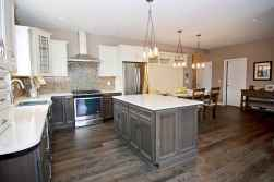 120 awesome farmhouse kitchen design ideas and remodel to inspire your kitchen (121)