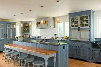 120 awesome farmhouse kitchen design ideas and remodel to inspire your kitchen (141)