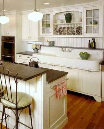 120 awesome farmhouse kitchen design ideas and remodel to inspire your kitchen (28)