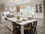 120 awesome farmhouse kitchen design ideas and remodel to inspire your kitchen (4)