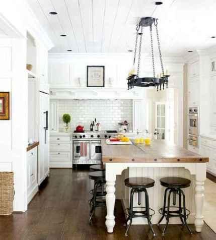 120 awesome farmhouse kitchen design ideas and remodel to inspire your kitchen (42)