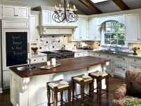 120 awesome farmhouse kitchen design ideas and remodel to inspire your kitchen (43)