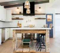 120 awesome farmhouse kitchen design ideas and remodel to inspire your kitchen (44)