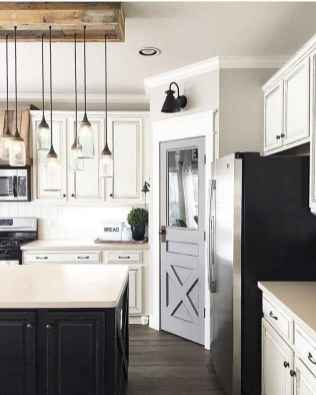 120 awesome farmhouse kitchen design ideas and remodel to inspire your kitchen (62)