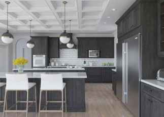 120 awesome farmhouse kitchen design ideas and remodel to inspire your kitchen (76)