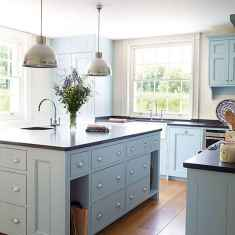 120 awesome farmhouse kitchen design ideas and remodel to inspire your kitchen (96)