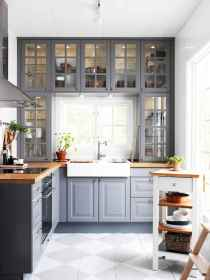 120 beautiful small kitchen design ideas and remodel to inspire your kitchen beautiful (110)