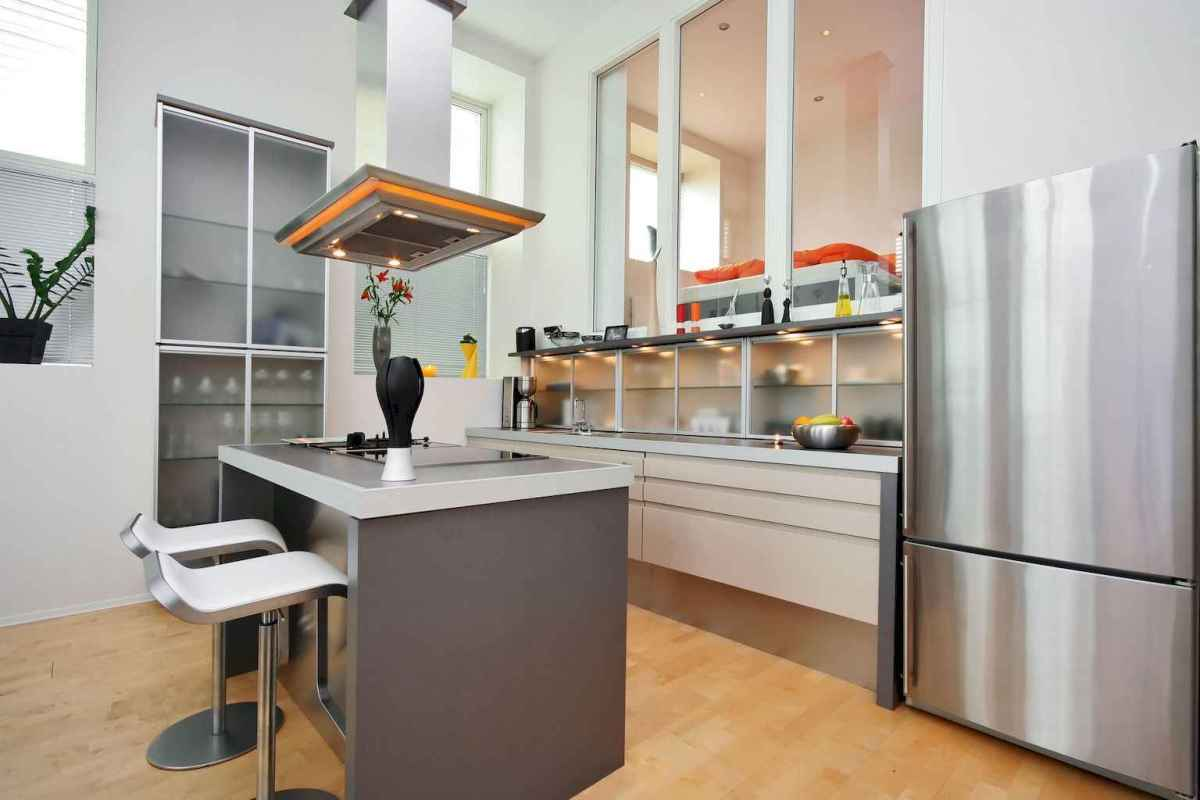120 beautiful small kitchen design ideas and remodel to inspire your kitchen beautiful (111)