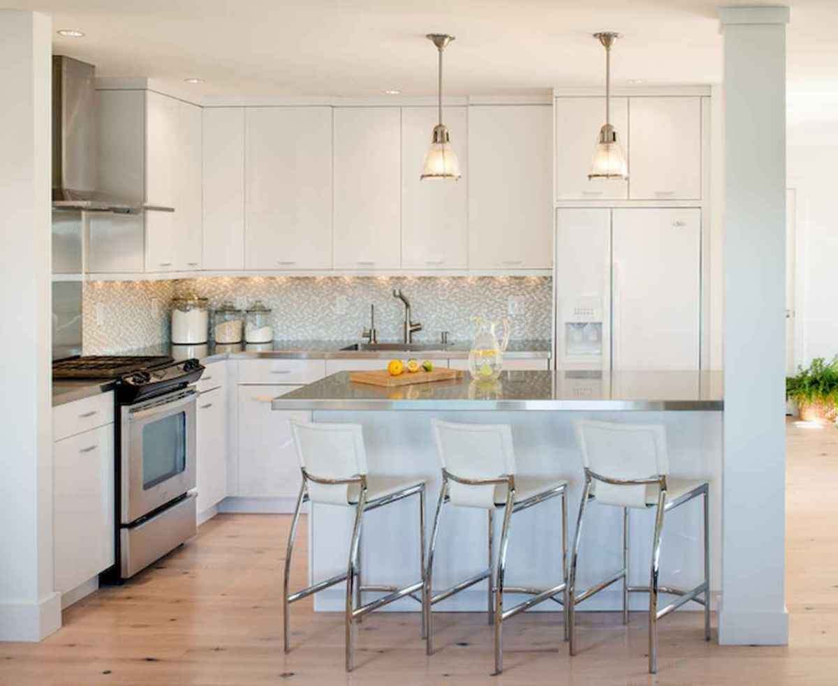 120 beautiful small kitchen design ideas and remodel to inspire your kitchen beautiful (29)