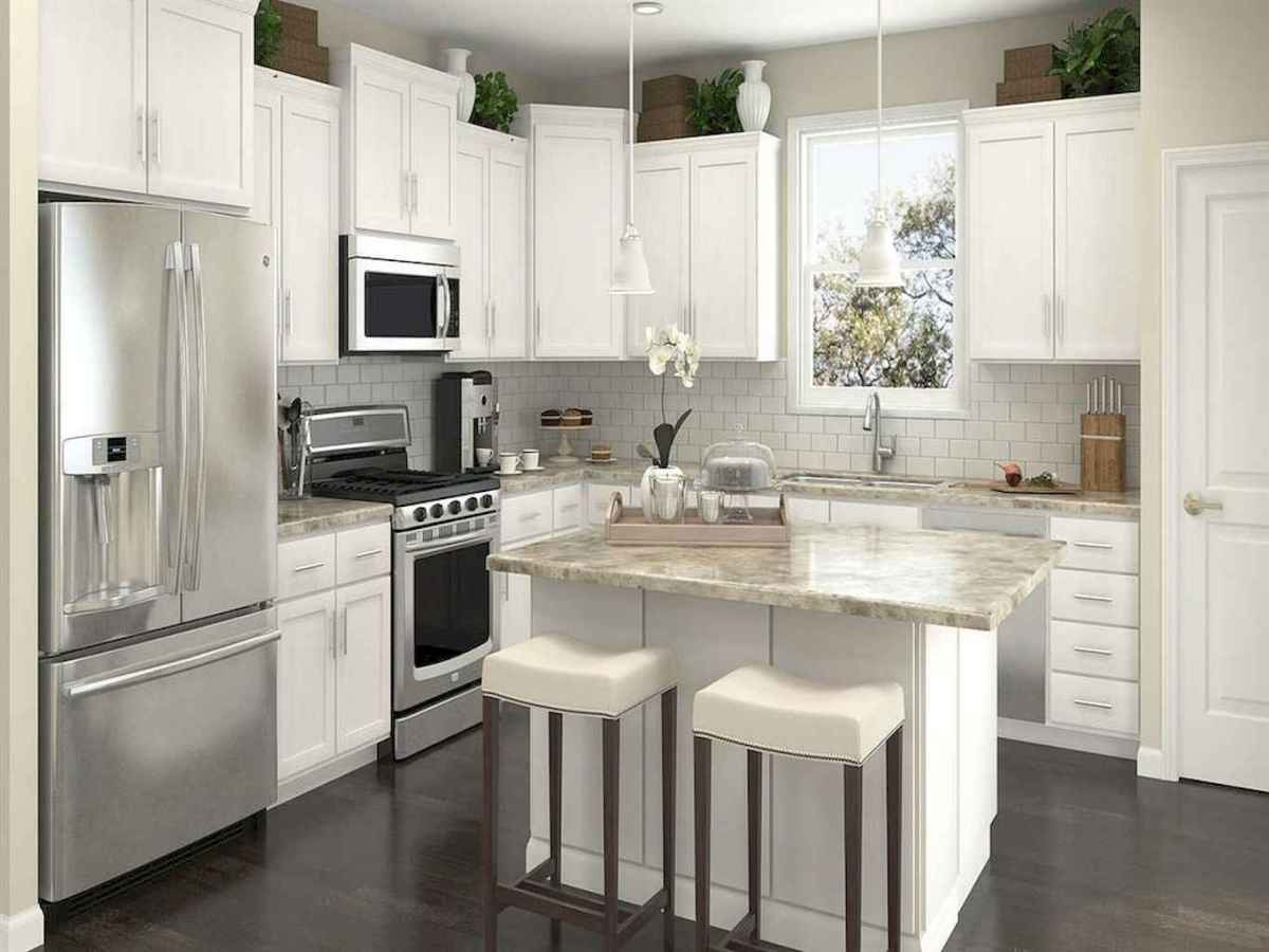 120 beautiful small kitchen design ideas and remodel to inspire your kitchen beautiful (41)