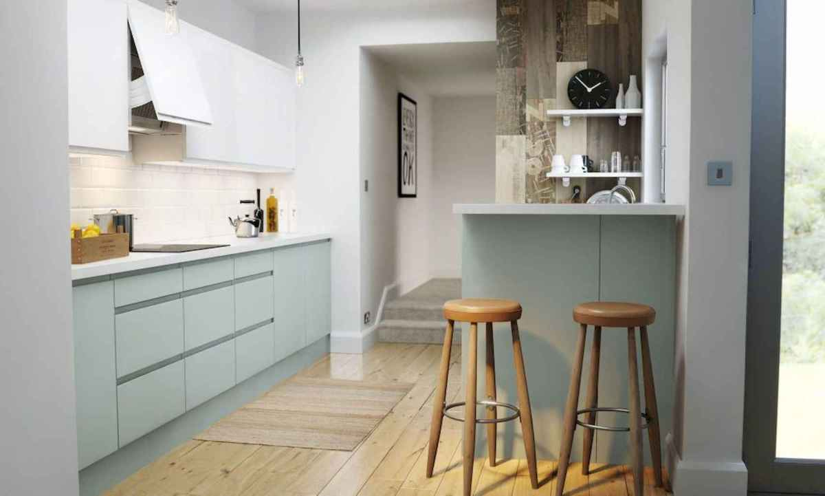 120 beautiful small kitchen design ideas and remodel to inspire your kitchen beautiful (45)
