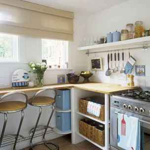 120 beautiful small kitchen design ideas and remodel to inspire your kitchen beautiful (48)