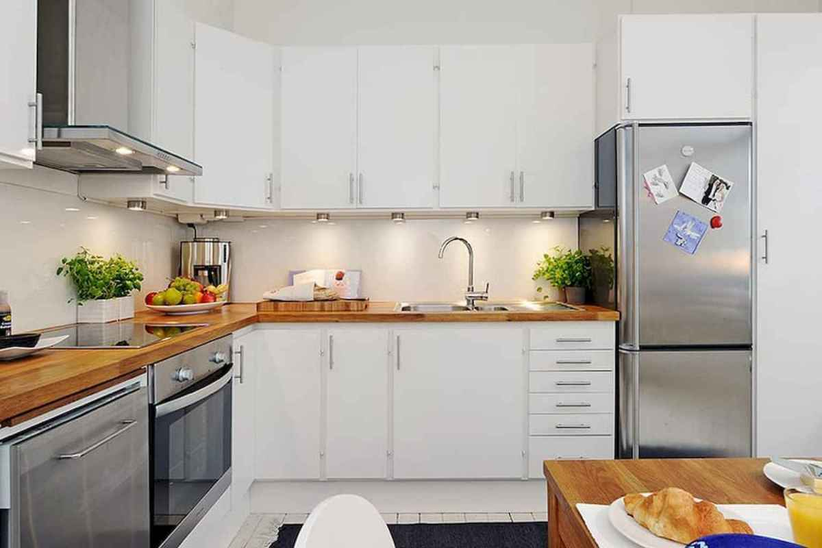 120 beautiful small kitchen design ideas and remodel to inspire your kitchen beautiful (72)