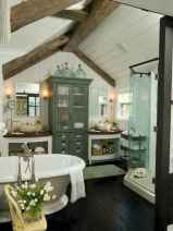120 best modern farmhouse bathroom design ideas and remodel to inspire your bathroom (14)