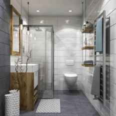 120 best modern farmhouse bathroom design ideas and remodel to inspire your bathroom (24)