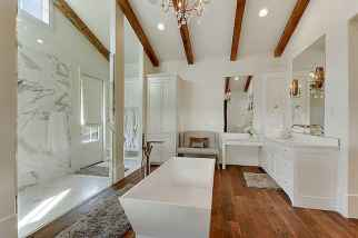 120 best modern farmhouse bathroom design ideas and remodel to inspire your bathroom (28)