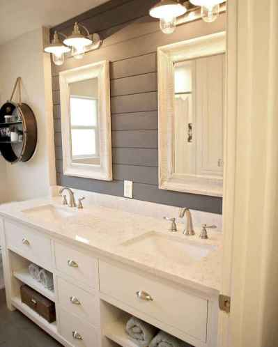 120 best modern farmhouse bathroom design ideas and remodel to inspire your bathroom (39)