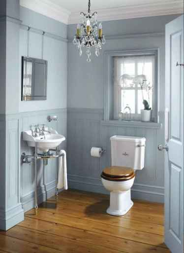 120 best modern farmhouse bathroom design ideas and remodel to inspire your bathroom (47)