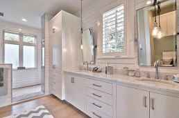 120 best modern farmhouse bathroom design ideas and remodel to inspire your bathroom (49)